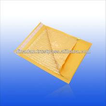 Self adhesive seal and custom kraft air bubble envelope