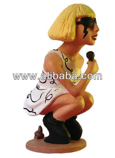Caganer Lady Gaga