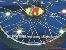 High Quality Chrome Spoke Motorcycle Wheel Rims