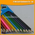 """Di alta qualità 7""""colore forma esagonale matita confezionatoin scatola di colore"""