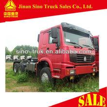 All wheel drive 6x6 truck head for world market