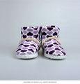 chicas lindas de impresión de interior del tobillo botas zapatos de interior