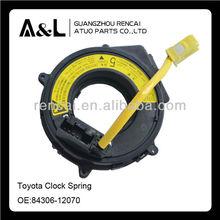 Muelle de reloj airbag en espiral cable sub- assy para toyota hiace 84306-12070 1999-2006