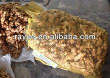 Ginger Mesh Bag,mesh potato bags