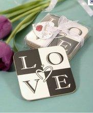 Premium wedding coasters/glass coaster wedding favors