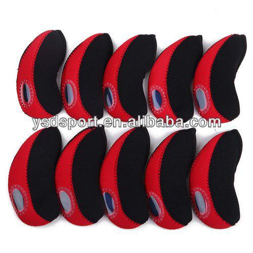 Neoprene Golf Club Iron Head Covers