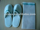 Factory made lot production slap-up waffle slippers for bedroom