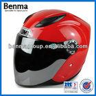 motorcycle helmet with sun visor,cheap sale motorcycle half face helmet and branded helmet