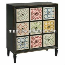 Best Sale Wooden Multi Drawer Cabinet
