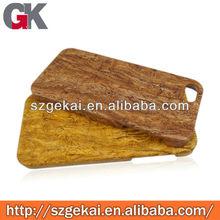 impiallacciatura incollatura caso sintetico per legno iphone5 rivestimento gommato