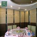 partition glissée et pliante et mur mobile acoustique partition mobile acoustique pour salle de banquet