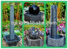 stone fountain outdoor resin tier fountain