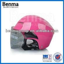 Scooter capacete, Motocicleta do vintage e capacete de fibra de carbono com alta reputação e bom preço