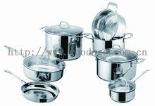 aluminium nonstick porcelain enamel cookware sets