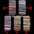 Fashion Tribe Skin Insert Card Flip Leather Case Cover For Apple iPhone5S 5G