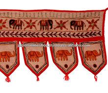 Indian Traditional Elephant Ethnic Toran Decor Hanging
