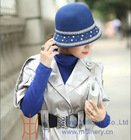 New wool felt hat winter fedoras hats for women wholesale price