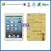 C&T Plastic coffee bean lovely case for ipad mini