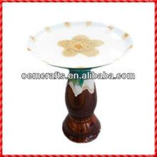 2012 New Decorative Wholesale Ceramic Standing Feeder