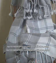 High Quality Fashion Design Plaid Woven Cashmere Throw