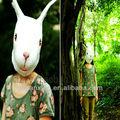 Páscoa de alta qualidade máscara coelho máscara cabeça máscara de cabeça de coelho