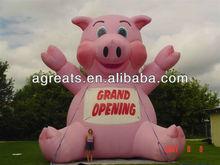 Outdoor advertising balloon inflatable pig cartoon S2005