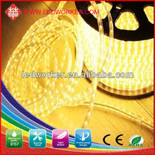 outdoor decoration hot sale 50m long no power needed high voltage led strip