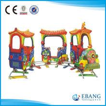 Playground rail train/Funny Park Activity Amusement Ride Electric Rail Train
