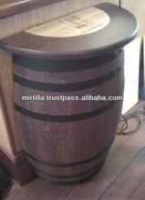bar decoration barrels