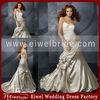 BL4701 Famous Designer Taffeta Asymmetrical Ruffles High Quality Wedding Dress