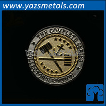 custom colored silver coins, with design draft
