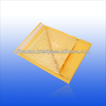 Yellow bubble cushioned mailers with self seal