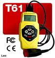 Voiture scanner obdii obd2,/obdii eobdii moteur du véhicule t61 voiture outil de diagnostic outil d'analyse
