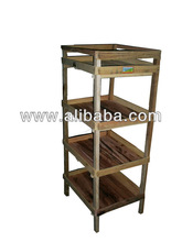 Carpenter round wooden stool medium