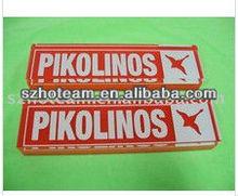 Cheap and pricelist promotional acrylic logo block sheet display acrylic displayer