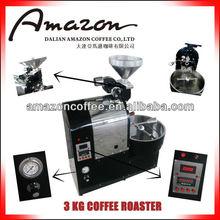 3kg Solar Automatic Shop Coffee Roasters Black(Capacity: 3Kg/20min ) (DL-A723-S)