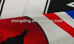 printed spandex polyester jersey fabric for sports wear