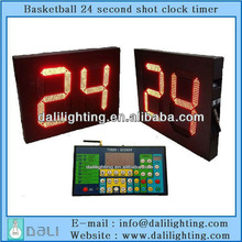 NBA CBA equipment factory supplier of LED Basketball counter 24 seconds timer