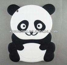 New designed Panda soft case for ipad mini, for mini ipad panda silicone cover
