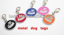 qr code pet tag 5 color 100pce /lot
