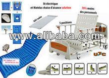 Seat 100% electric hospital bed & air matelas bed pan