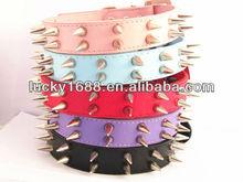 dog collar metal spikes pitbull spiked leather dog collar