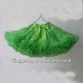 tule verde imagem de saias curtas petttiskirt para as pessoas