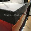 Pedra Artificial buffet contador top, De quartzo projetado bancadas de trabalho