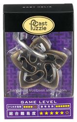 Cast Puzzle Helix Metal 3D Puzzle Level 5