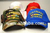 Wholesale Baseball Hats Caps Adjustable Camo Hats Vietnam Vetran