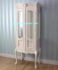 French Livingroom Showcase Cabinet 2 Glass Door - Mahogany Furniture Indonesia