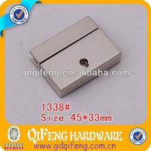 Handmade rectangle 45*33mm hardware bag suitcase locks various size1338#