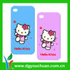 new arrival cute Hello Kitty shaped silicone 3D phone case