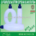 500ml corriendo de plástico botella de agua, la fda, estándar de lfgb, la norma astm, cpsia, estándar de la norma en, bpa gratis